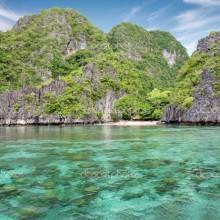 Stunning landscape in El Nido, Palawan, Philippines