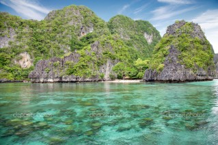 Stunning landscape in El Nido, Palawan, Philippines